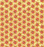 Nahtlose Blümchenmuster Blumenblüte Hintergrund.