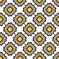 Seamless blommönster. Abstrakt blommig prydnad. Orientalisk textur