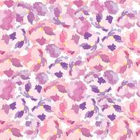 Abstrakt blommig prydnad Blomma kronblad sömlös mönster Swirl blommig konsistens