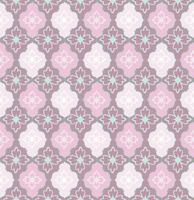 Nahtloses Blumenmuster. Abstrakte Blumenverzierung. Brokat-Textur