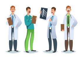 Sjukvård karaktärer