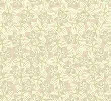 Nahtlose Blümchenmuster Blumen Hintergrund Blühende Gartenbeschaffenheit