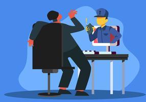 Cyber Security och skyddade data vektor