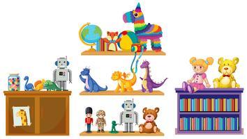Sats barn leksaker