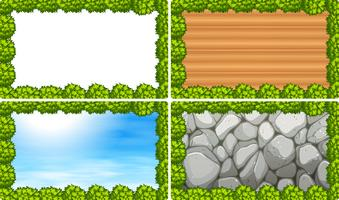 Naturbilder mit Szenen