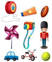 Set barn leksak