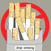 Ungekochte Zigarettenpackungen sind ein weiteres Zeichen dafür, dass alle Menschen der Welt mit dem Rauchen aufhören