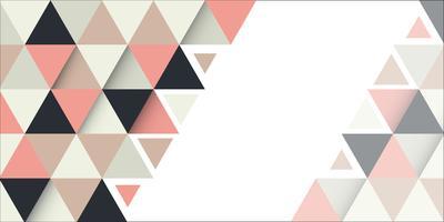 Abstrakt banner design vektor