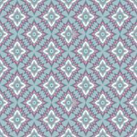Nahtloses Mosaikmuster Orientalische Gewebebeschaffenheit der abstrakten Blumenverzierung