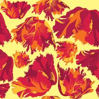 Nahtlose Blümchenmuster Blumen Hintergrund