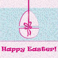 Osterei-Zeichen. Ostern Grußkarte Hintergrund. Religiöses symbol