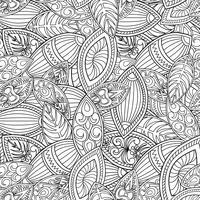Abstrakte Linie nahtlose Muster. Mit Ziegeln gedeckter geometrischer Hintergrund