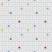 Abstraktes geometrisches Formularmuster. Mosaik Quadrat Abbildung Hintergrund