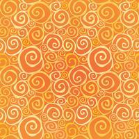 Abstraktes dekoratives nahtloses Muster. Windung Linie geometrischen Hintergrund vektor