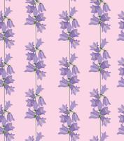 Nahtlose Blümchenmuster Blumen Hintergrund vektor
