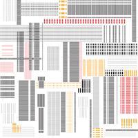 Abstrakte virtuelle Textur. Geometrische Linie helles städtisches nahtloses Muster