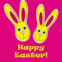 Ostern Zeichen. Ostern Grußkarte Hintergrund. Symbol des religiösen Glaubens.