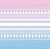 Stammes-Muster Hintergrund Vektor