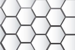 abstrakte Bienenstock Hexagon und Raum Hintergrund