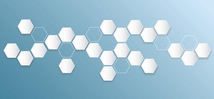 abstrakt hexagon bee hive bakgrund