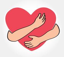 krama hjärtat