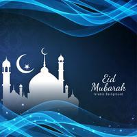 Abstrakt islamisk festival bakgrund vektor