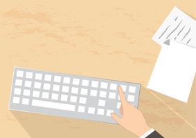 skrivbord vektor bakgrund