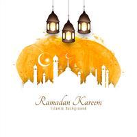 Abstrakter islamischer Hintergrund Eid Mubaraks