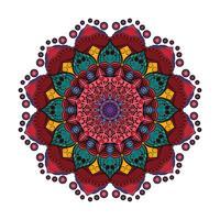 Härlig färgrik mandala 5