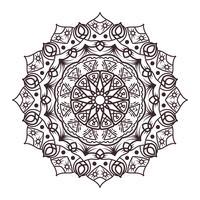 Mandala design för vuxna färgböcker, dekorationer, etc.