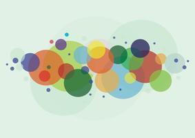 abstrakt rund cirkel bakgrund vektor
