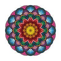 Reizendes buntes Mandala 2