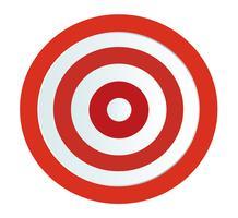 Ziel Bogenschießen Vektor