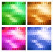 Set av banderoller vektor