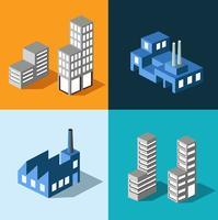 Urbane Häuser