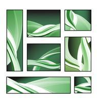 Eine Reihe von abstrakten Mustern