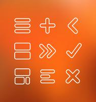 Linjära datorikoner vektor