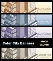 Stadtthema vektor