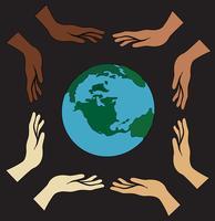 alla händer som håller världen