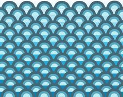 süße Welle im Meer Cartoon Hintergrund