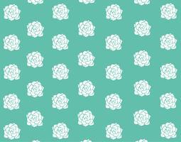 Pastellhintergrund der grünen reizenden Blume vektor