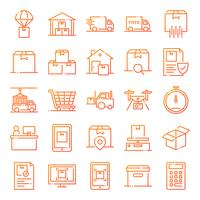 Logistische Icons Pack