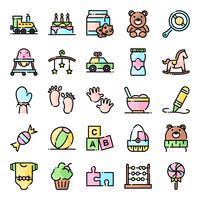 Baby shower ikoner pack