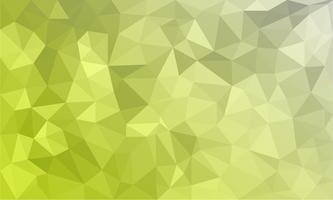 abstrakter gelber Hintergrund, niedrige strukturierte Polydreieckformen im gelegentlichen Muster, modischer lowpoly Hintergrund vektor