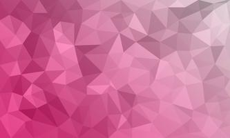 abstrakter roter Hintergrund, niedrige strukturierte Polydreieckformen im gelegentlichen Muster, modischer lowpoly Hintergrund vektor
