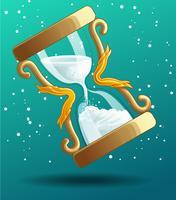 nedräkning till jul. vektor