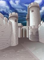 fästning.