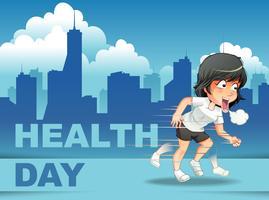 Världshälsdagen vektor