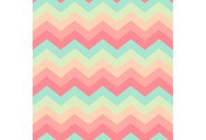 Modern zigzag sömlös textur vektor