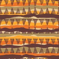 Stammes-ethnischen nahtlose Muster mit geometrischen Elementen